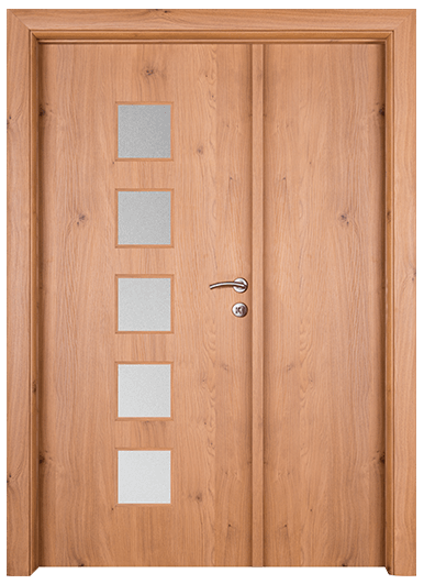 Vrata Hrast P4P1