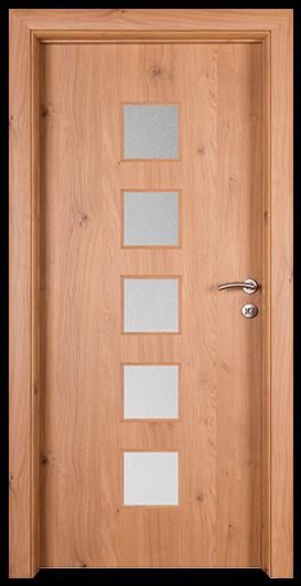 Vrata Hrast P4