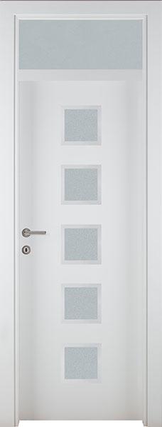 Vrata bijela P4 nad